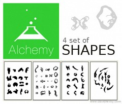 Free PDF shapes for the tool pullshape in Alchemy
