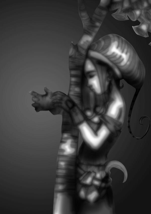 02spiderharp blur sketch