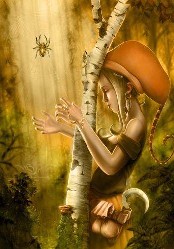 08 spiderharp