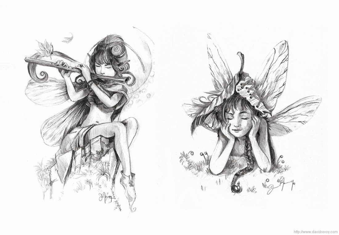 image data/images/blog/2007/Pencil-fairies-studies_by-David-Revoy.jpg