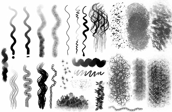 06 brushkit brush sample