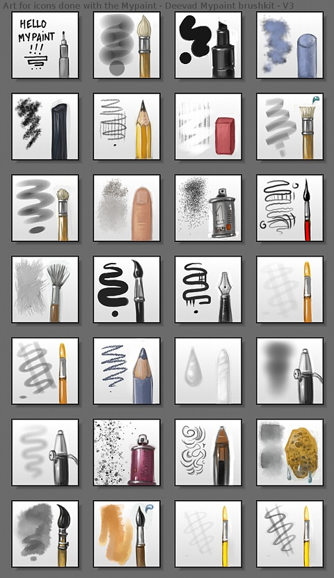 v3brushkit iconart preview