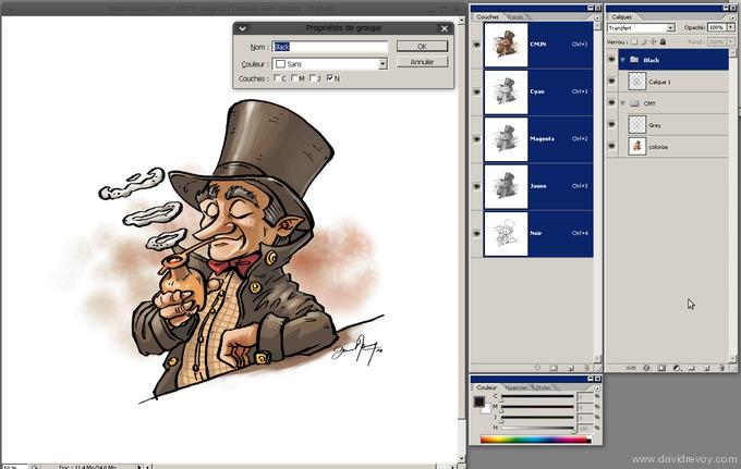 comics colorize with gimp 015