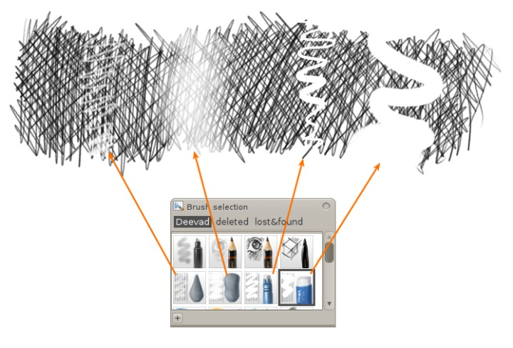 mypaint deevad v4 brushkit exemple 01