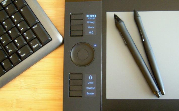 Set the led of Wacom Intuos4 tablet on LinuxMint - David Revoy