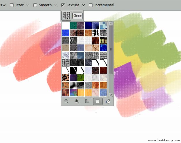 gimp painter 27 texture david