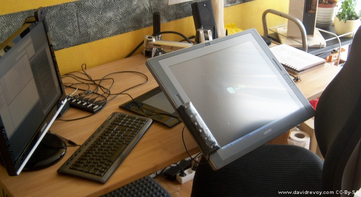 Ergotron Lx Arm For Cintiq David Revoy