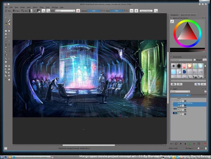 Kubuntu For Digital Painting David Revoy