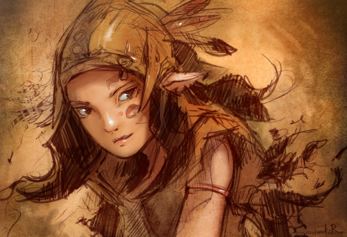 image data/images/blog/2012/09/2012-09-10_forest-elf-hunter_graphic-test_final_net.jpg
