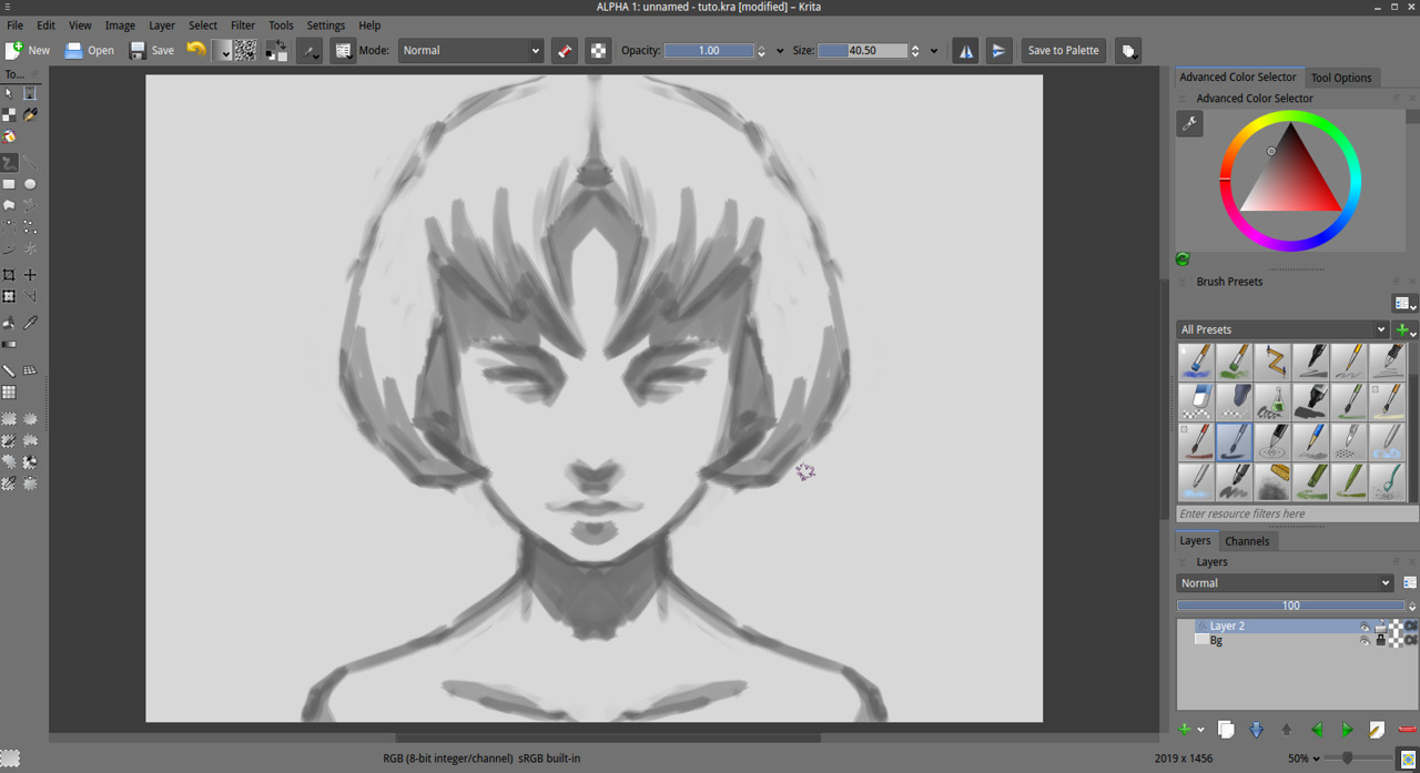 Getting started with krita 1 3 david revoy