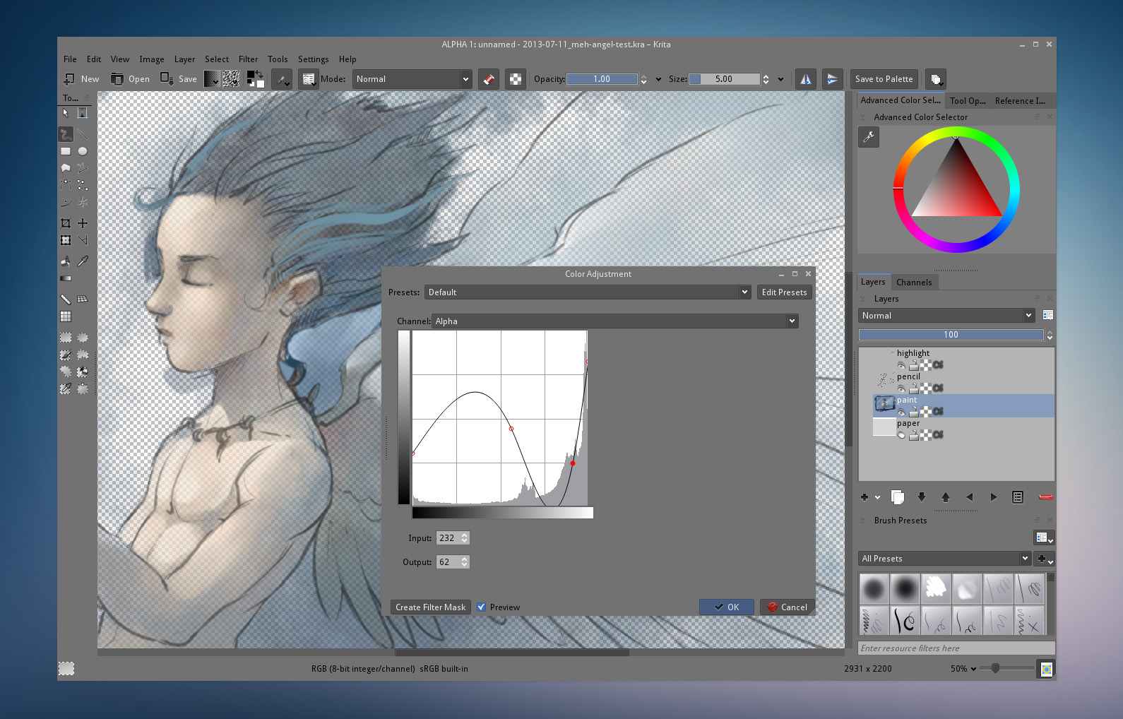 Krita Painting Software Gallery