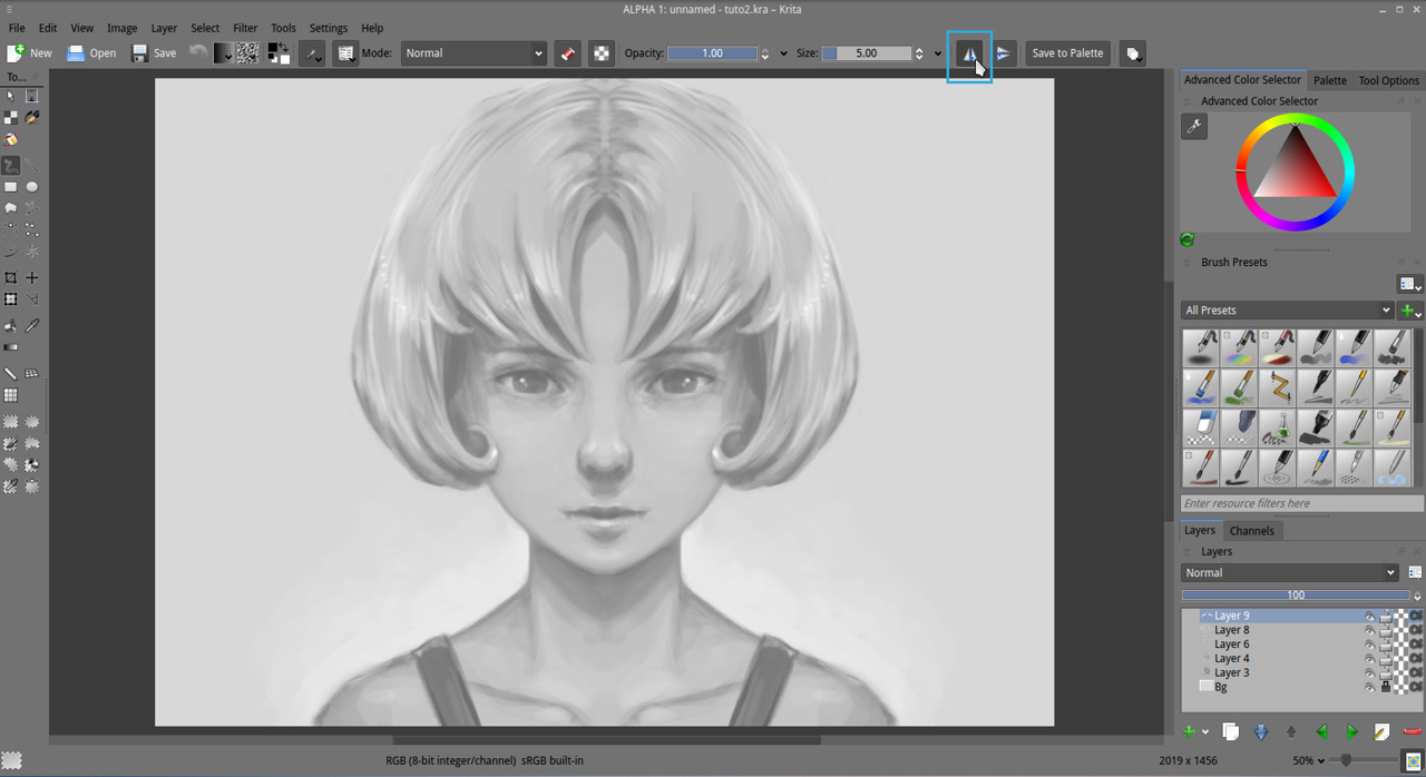 Getting Started With Krita 2 3 David Revoy