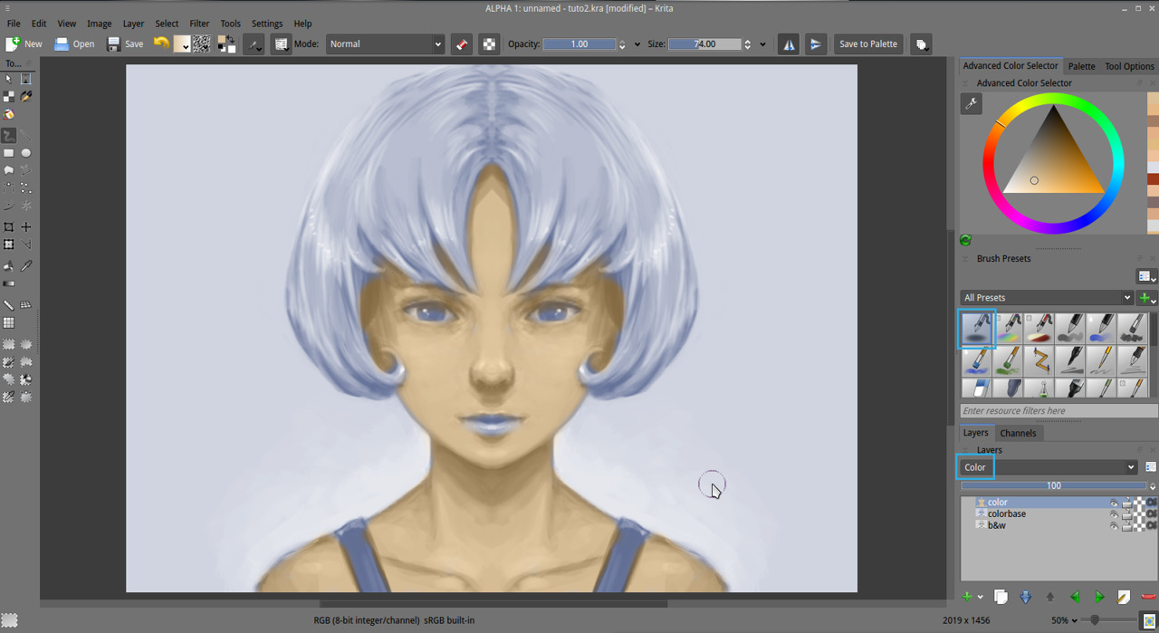 How To Blend Colors In Digital Painting