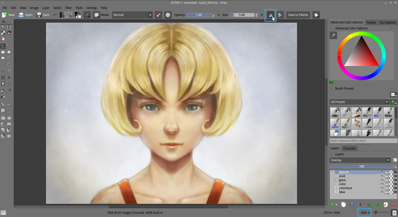 Getting started with Krita (3/3) - David Revoy