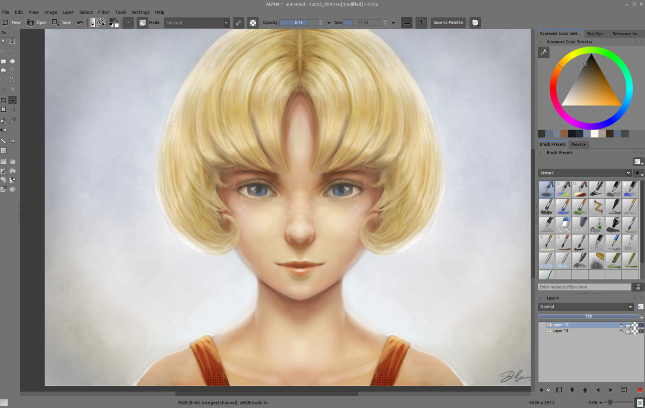Getting Started With Krita 3 3 David Revoy