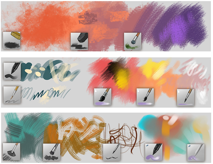 Krita Brushes v4 - David Revoy