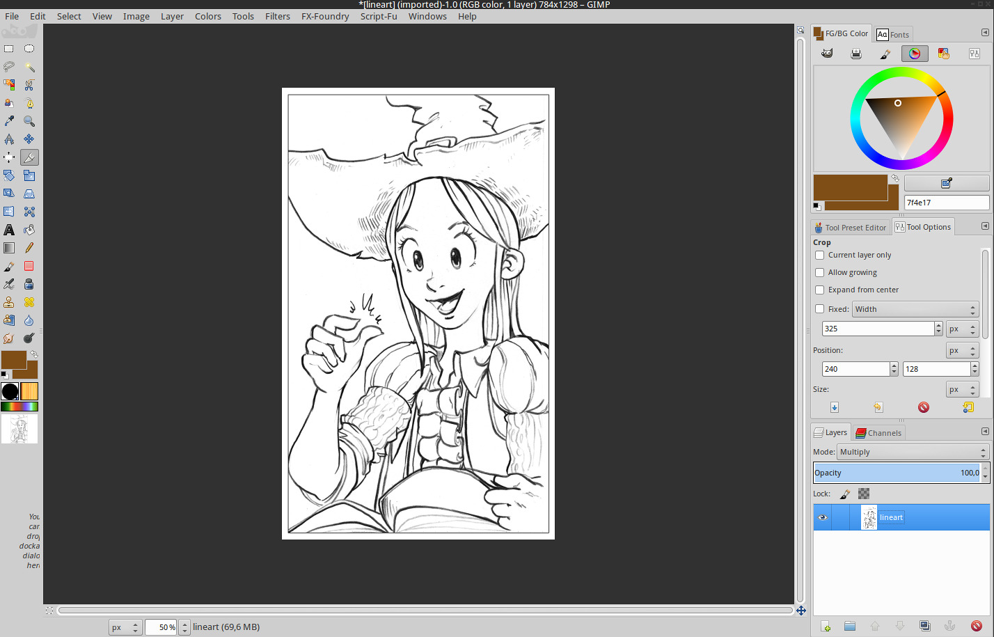 Line Art Gimp : Gmic line art colorization david revoy