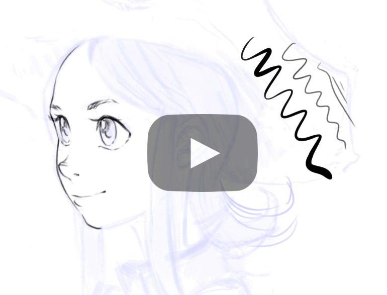 Line Drawing Pictures : Line art tips with krita david revoy