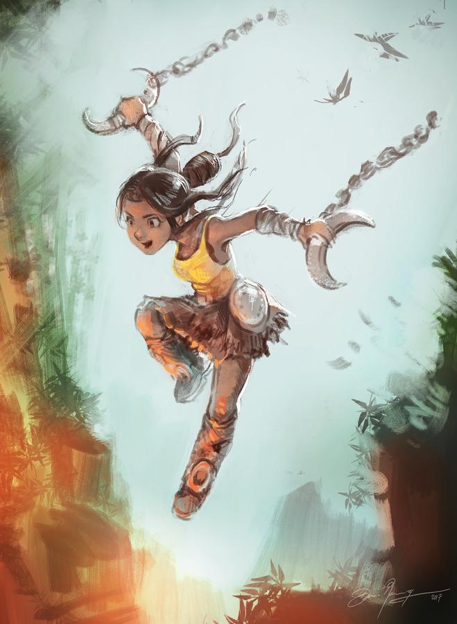 Character Design Krita : Krita digital painting courses at university cergy