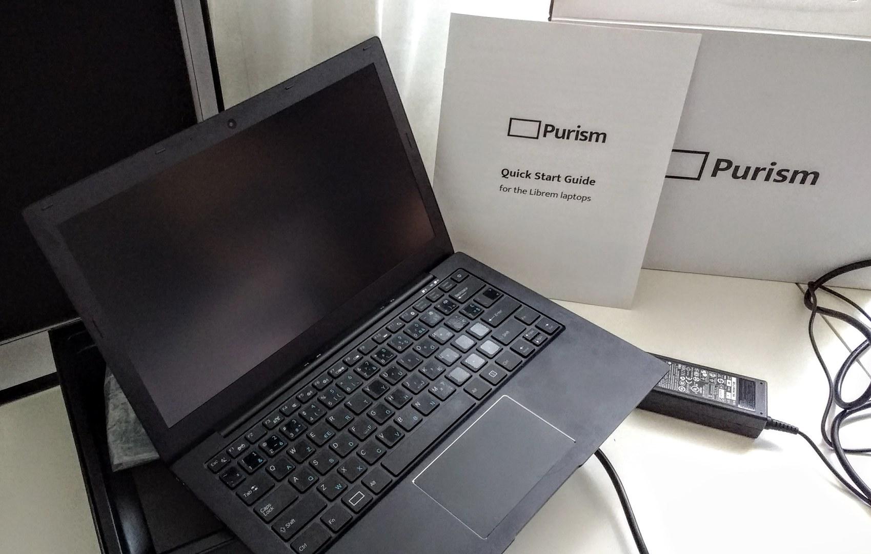 Review: Purism Librem13 laptop - David Revoy
