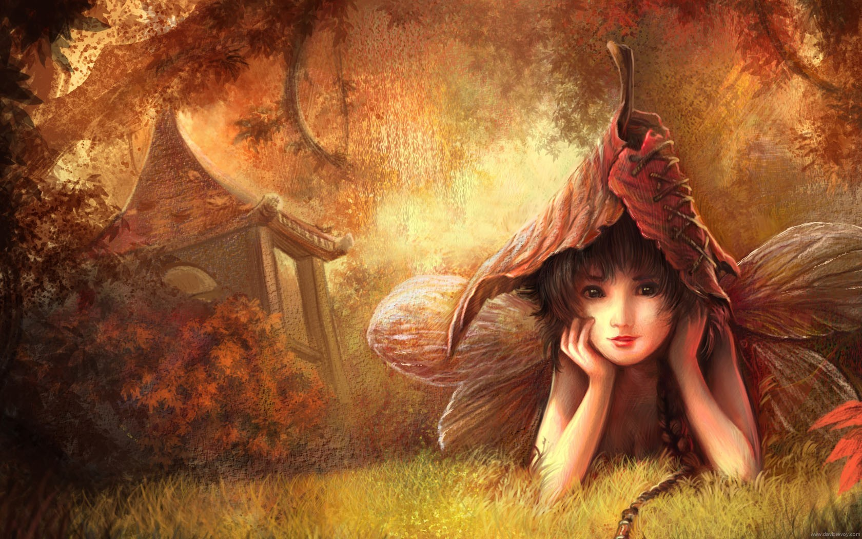 Fantasy fairies and pixies hot girls wallpaper for Ecran en miroir