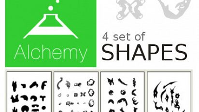 PDF shapes for Alchemy