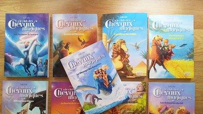 Magics Horses, 12 book covers