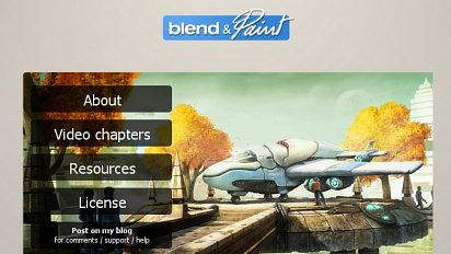 Blend&Paint DVD : preview and video test