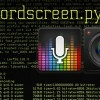 Recordscreen.py : video and audio capture