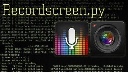 Recordscreen.py : video and audio capture