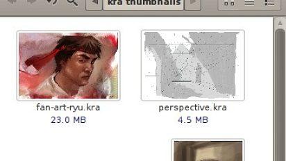 Krita kra file thumbnailer for Gnome 2