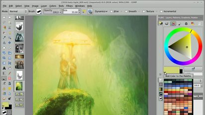 What come next after Gimp-painter 2.6 ?