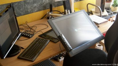 Ergotron Lx arm for Cintiq
