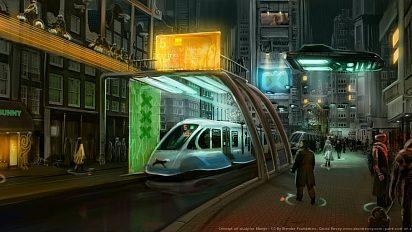 Concept for Mango project : future Amsterdam