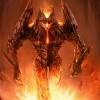 Volcano monster