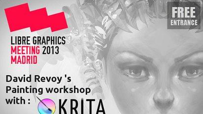 Krita workshop at LGM 2013