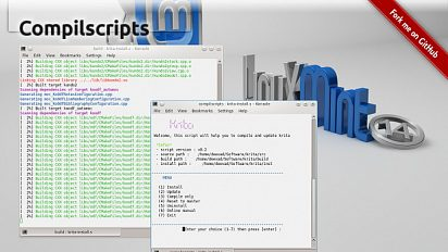 Compilscripts : Krita, Mypaint and VC