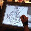 Sketching on Cintiq
