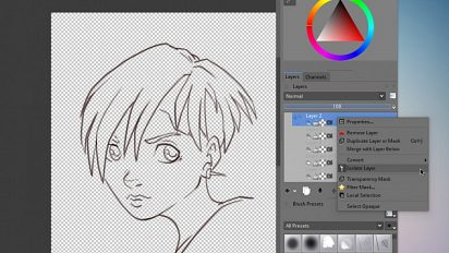 Guide : Krita 2.7 new features