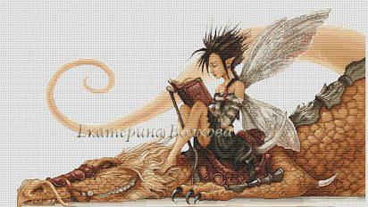 Cross stitch by Katya Volkova
