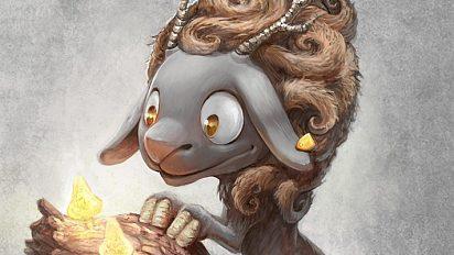 Dragon sheep