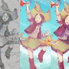 Video timelapse and Krita tips: «Flying a...