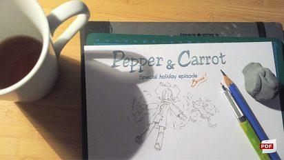 Making-of Pepper&Carrot ep5