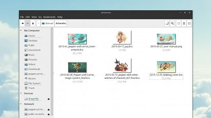 Krita thumbnails for Nautilus,Nemo file browser