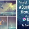 Full and long video tutorial: a Comic page...