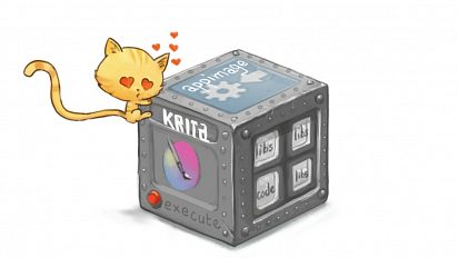 Krita Appimage for cats