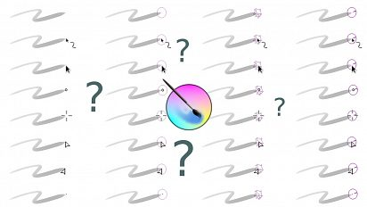 What is the best Krita cursor?