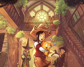 Pepper&Carrot: cover for the second book