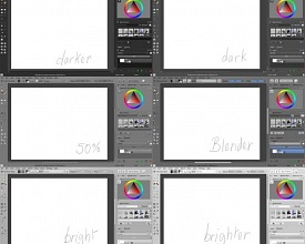 Themes for Krita and KDE