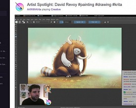 Live streaming on Twitch: collaborative design of the Phanda